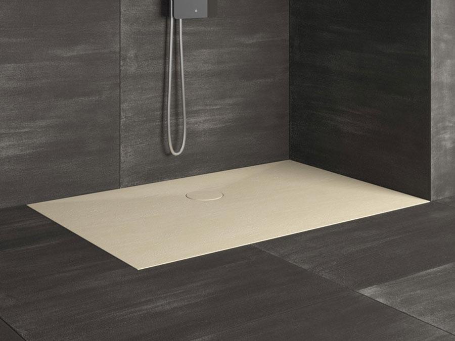 Modello di doccia a filo pavimento n.06