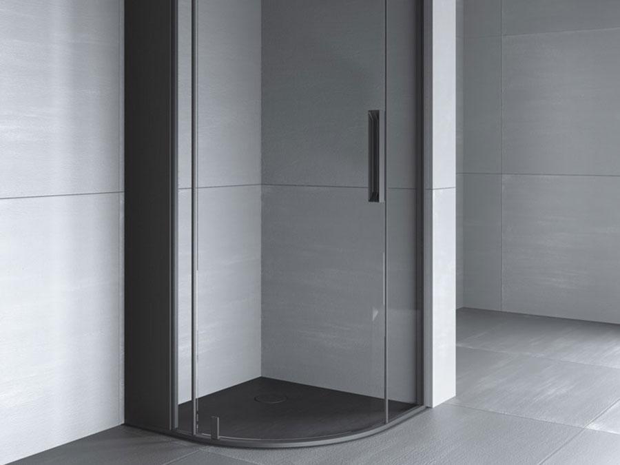Modello di doccia a filo pavimento n.08
