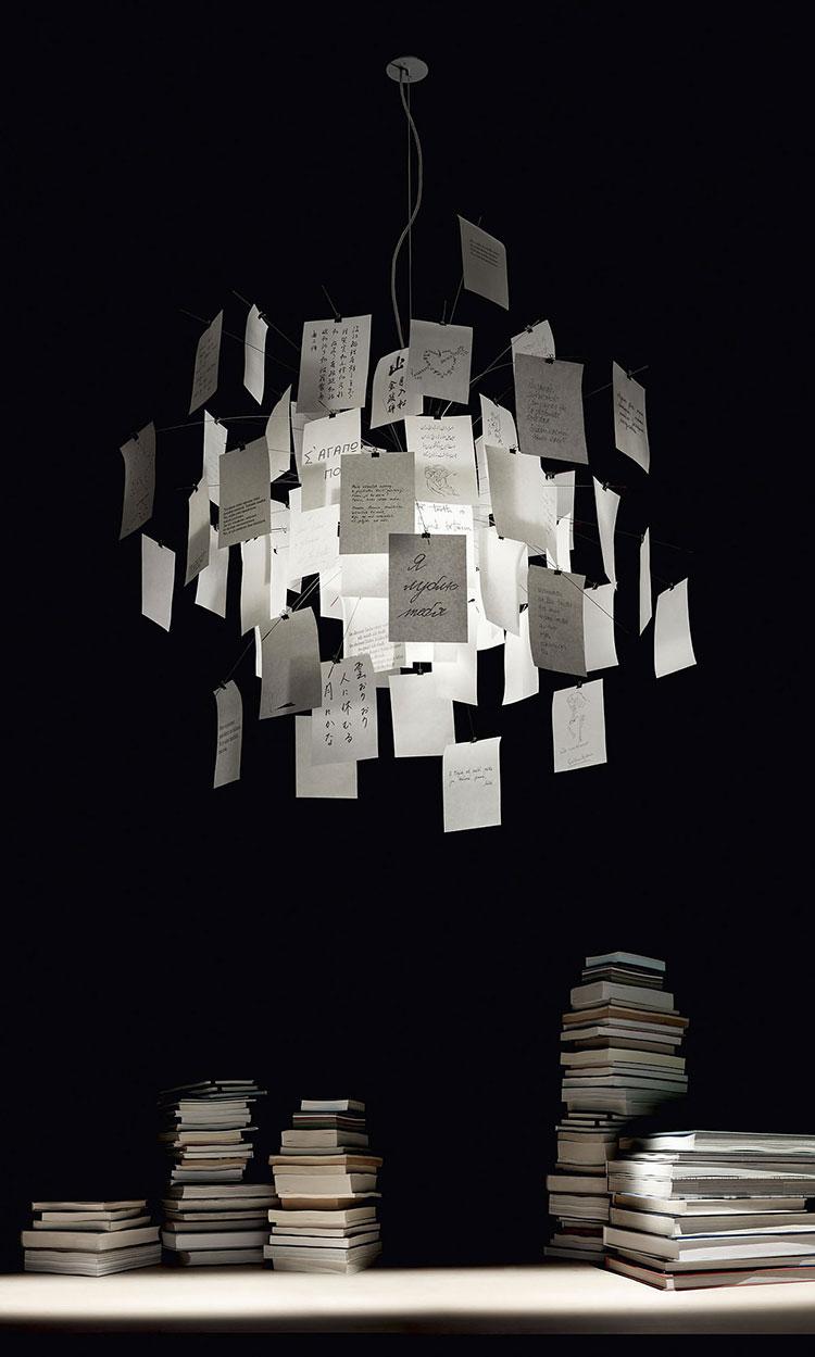 Modello di lampadario marca Ingo Maurer n.02
