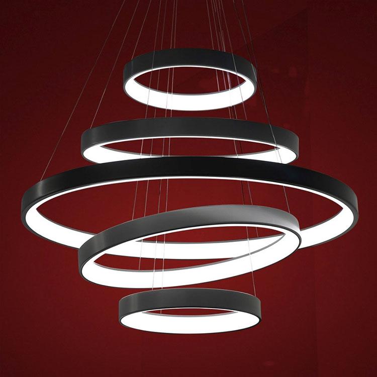 Modello di lampadario marca Martinelli Luce n.01
