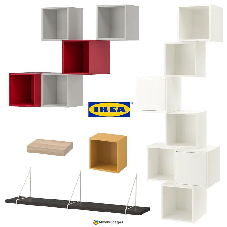 Come costruire una libreria fai da te Ikea