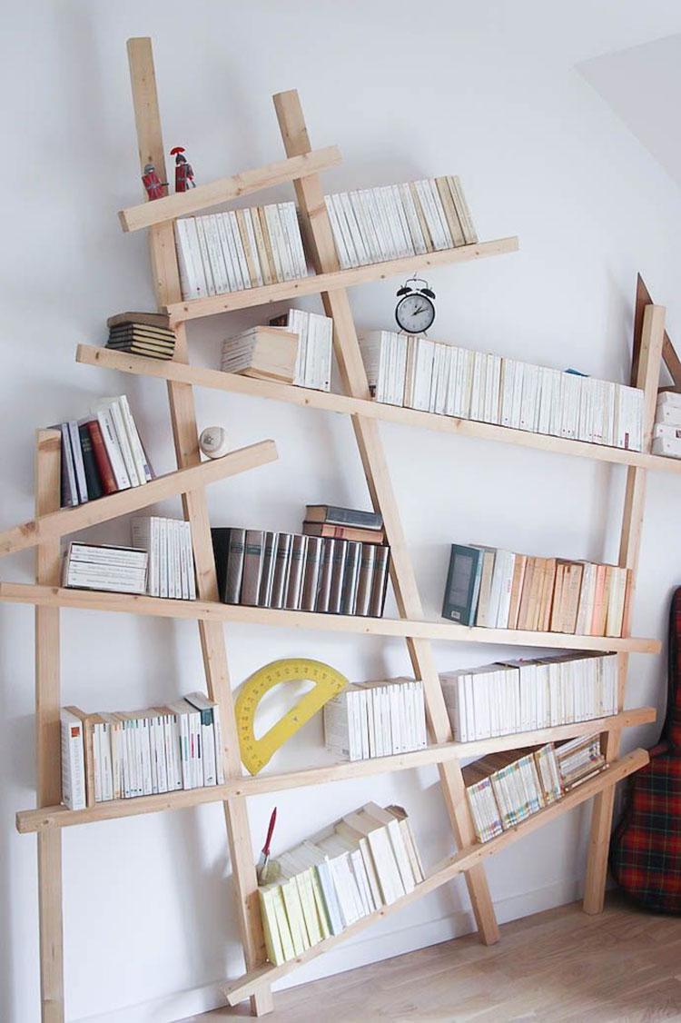 Come costruire una libreria fai da te in legno n.1