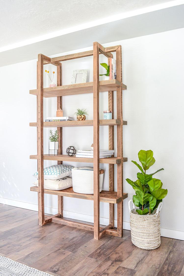 Costruire Mensole Per Libreria A Muro.Libreria Fai Da Te Tante Idee Originali Con Tutorial Mondodesign It