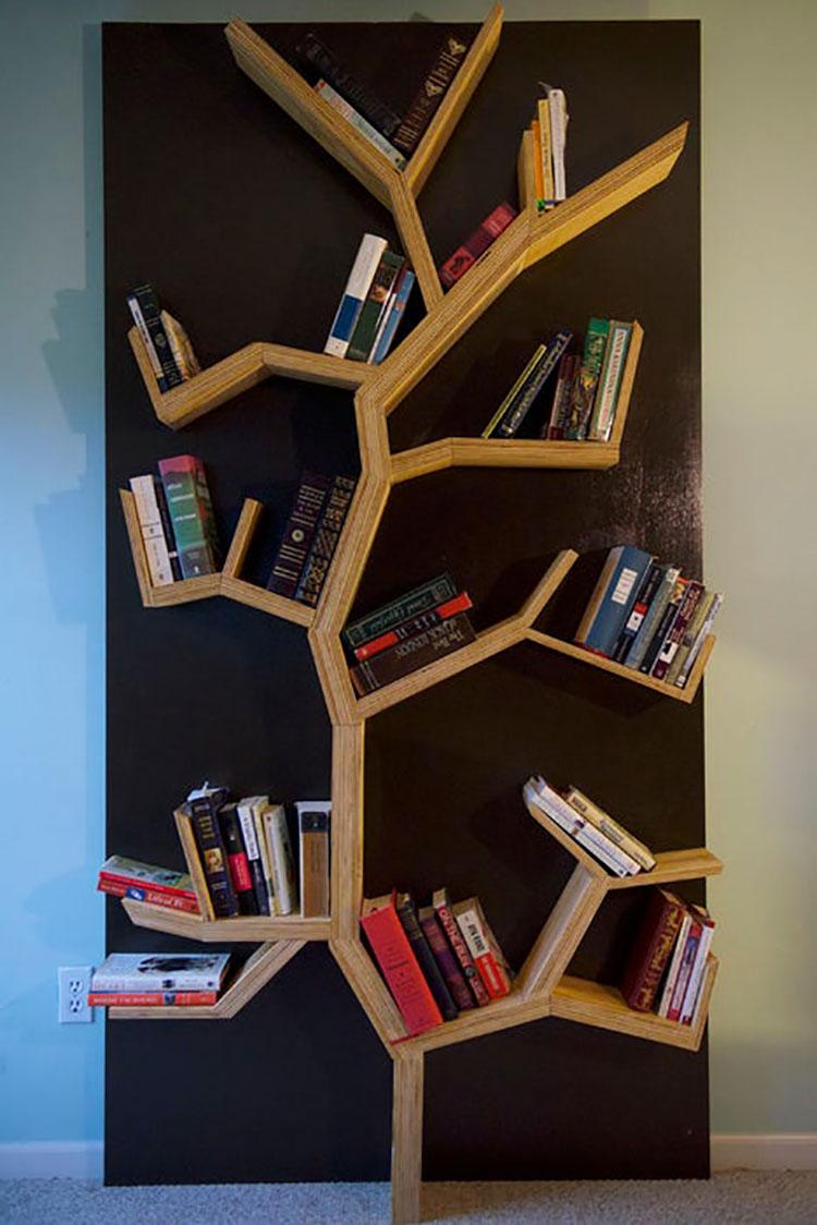 Legno Idee Fai Da Te libreria fai da te: tante idee originali con tutorial