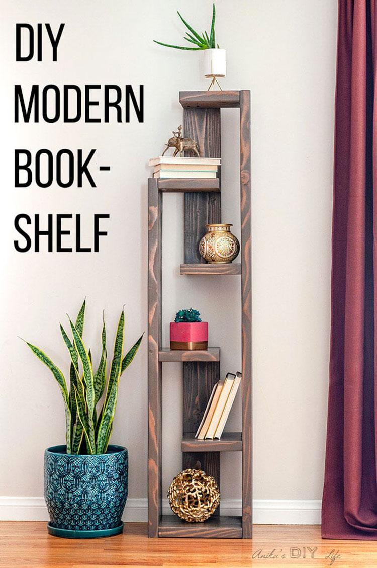 Come costruire una libreria fai da te con pallet n.3