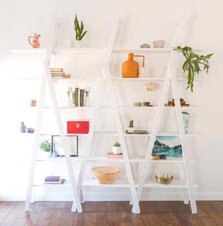 Come costruire una libreria fai da te con scale n.2