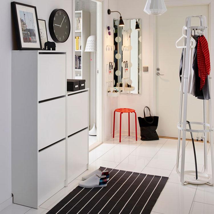 Idee per arredare un corridoio Ikea n.01