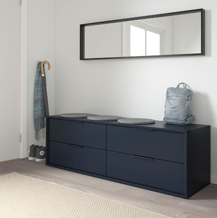 Idee per arredare un corridoio Ikea n.09