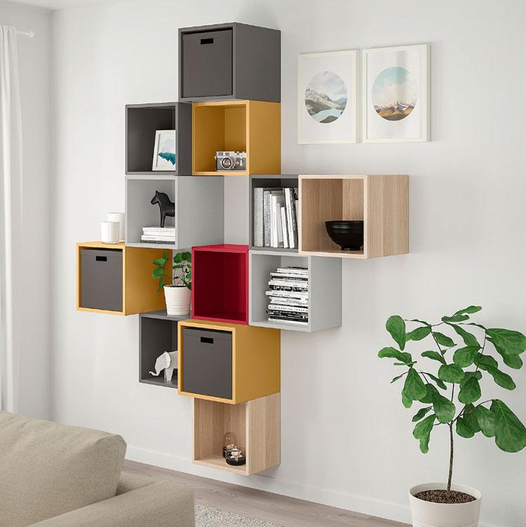 Idee per arredare un corridoio Ikea n.12