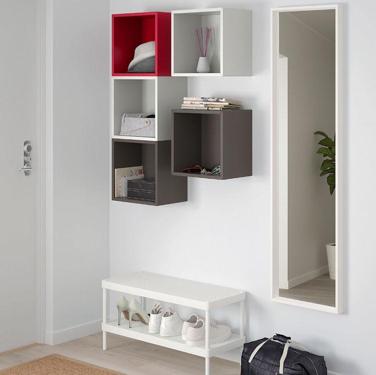 Idee per arredare un corridoio Ikea n.15