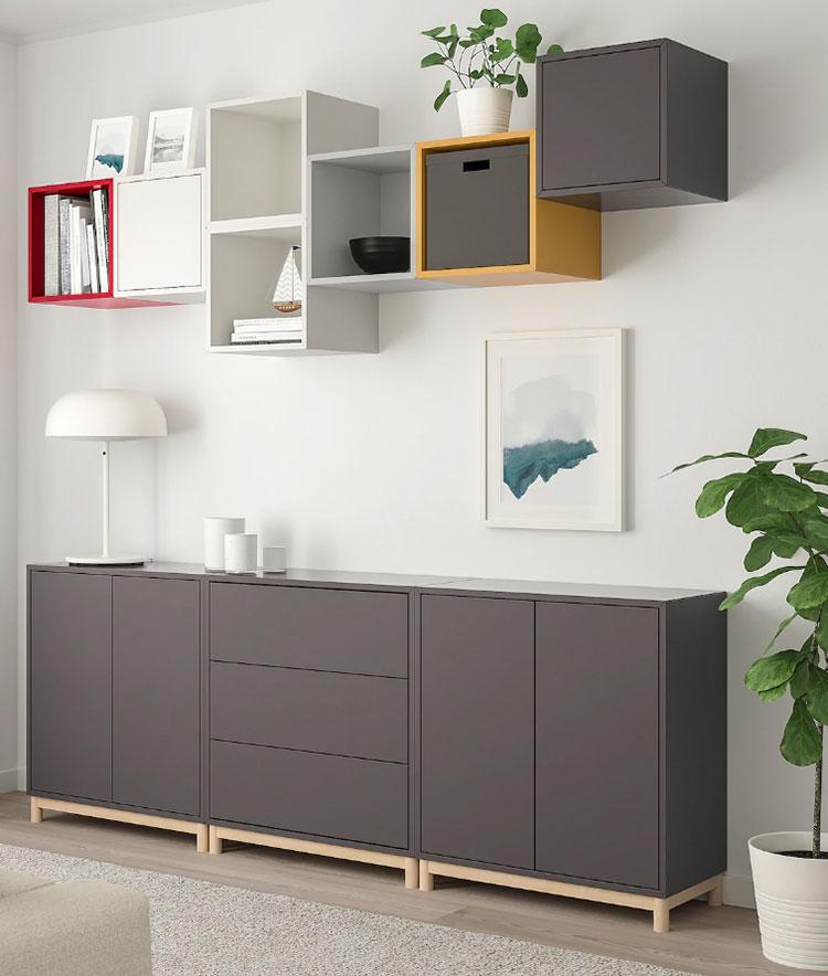 Idee per arredare un corridoio Ikea n.17