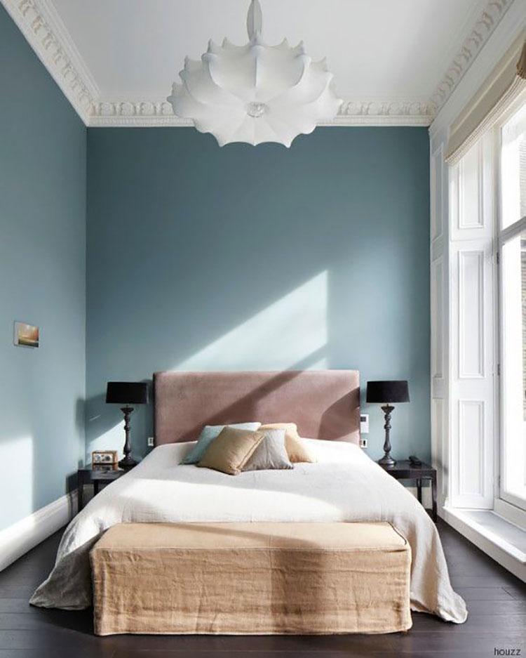Idee per dipingere le pareti della camera da letto carta da zucchero 3