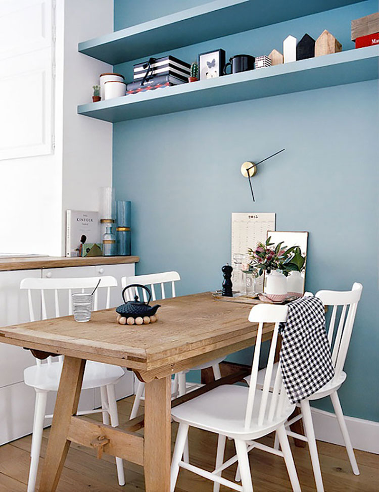 Idee per dipingere le pareti della cucina carta da zucchero 2
