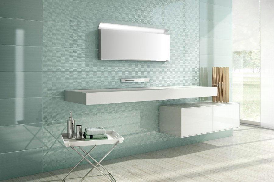 Idee per un bagno verde acqua 1