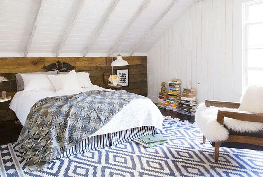 Materiali per arredare una camera da letto country chic n.03