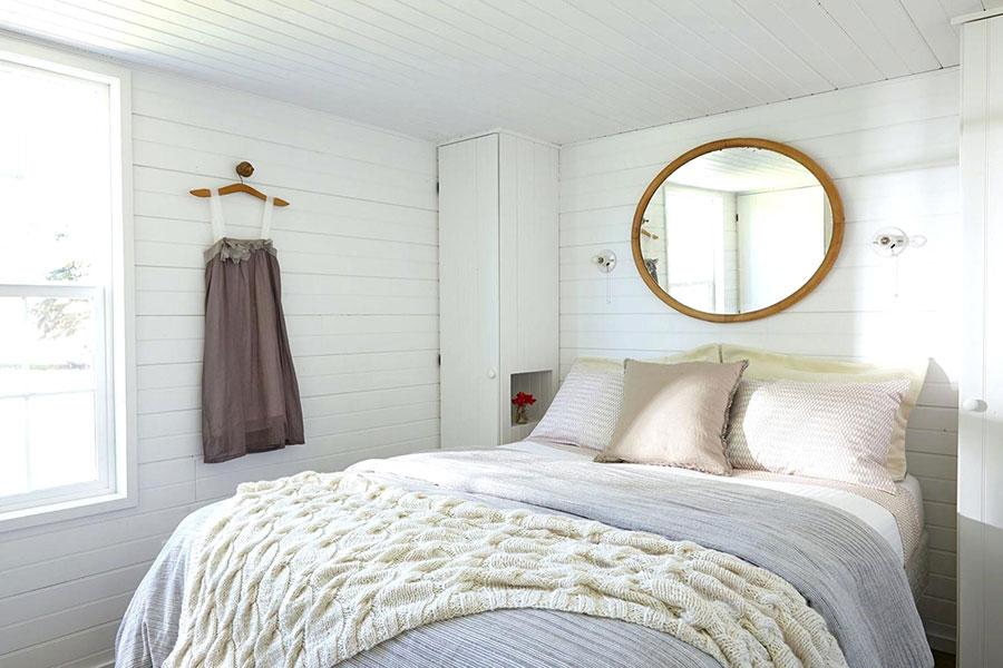 Tessuti per arredare una camera da letto country chic n.02
