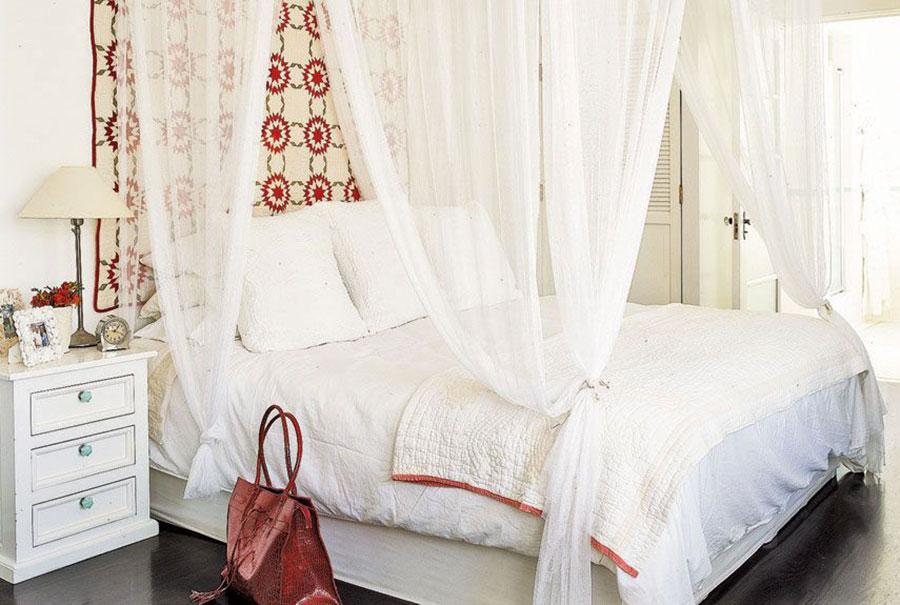 Tessuti per arredare una camera da letto country chic n.03