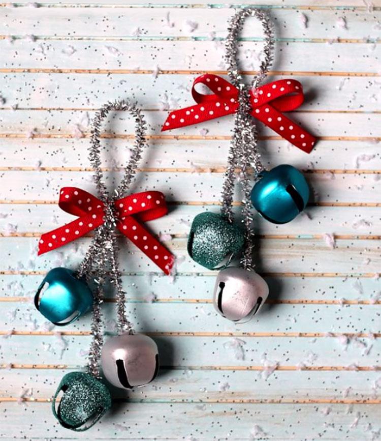 Campanelle per decorazioni natalizie fai da te