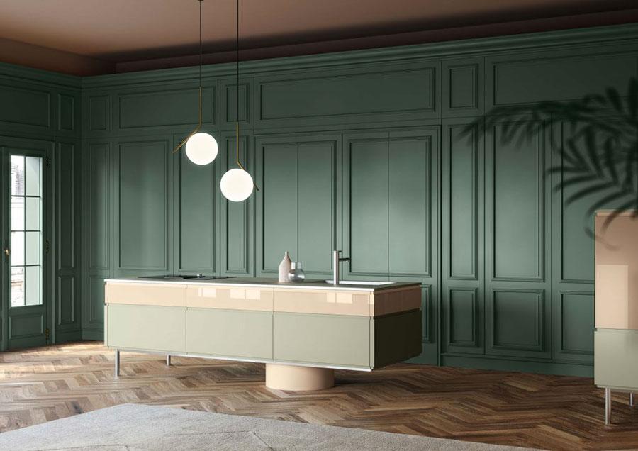 Modello di cucina L'Ottocento n.01