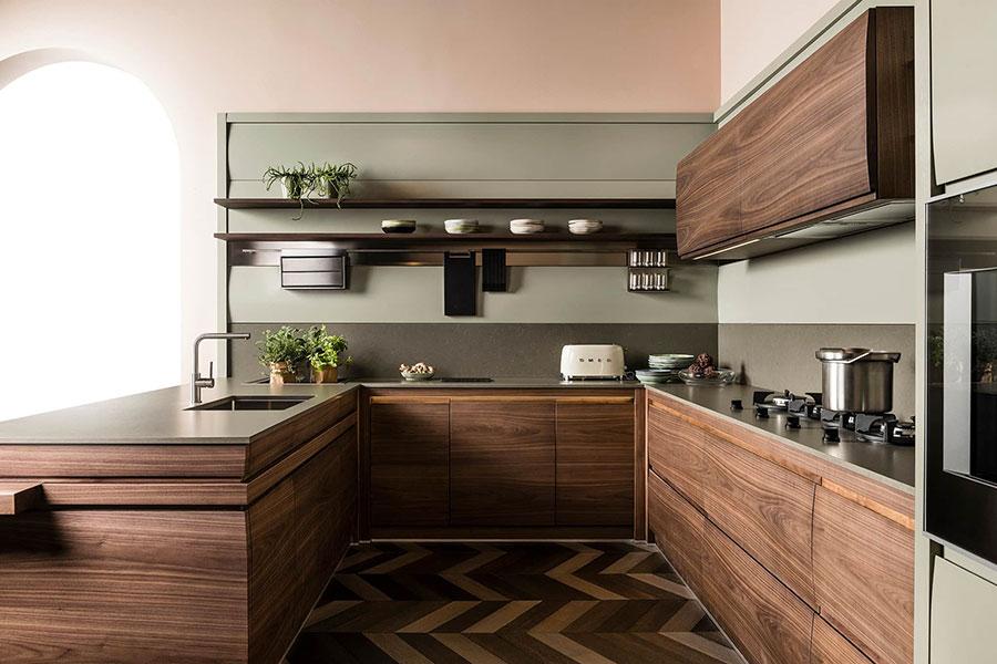 Modello di cucina L'Ottocento n.02