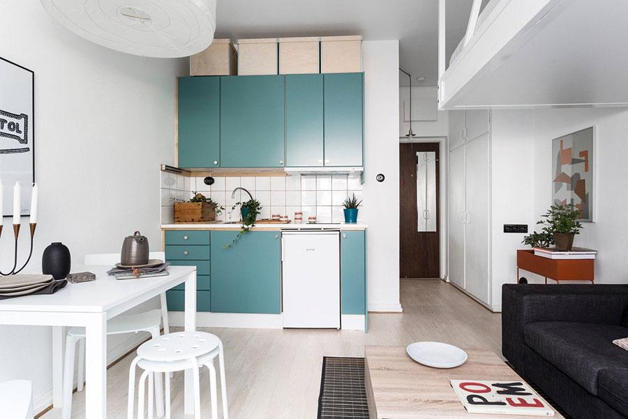 Idee per arredare una cucina piccolissima n.05