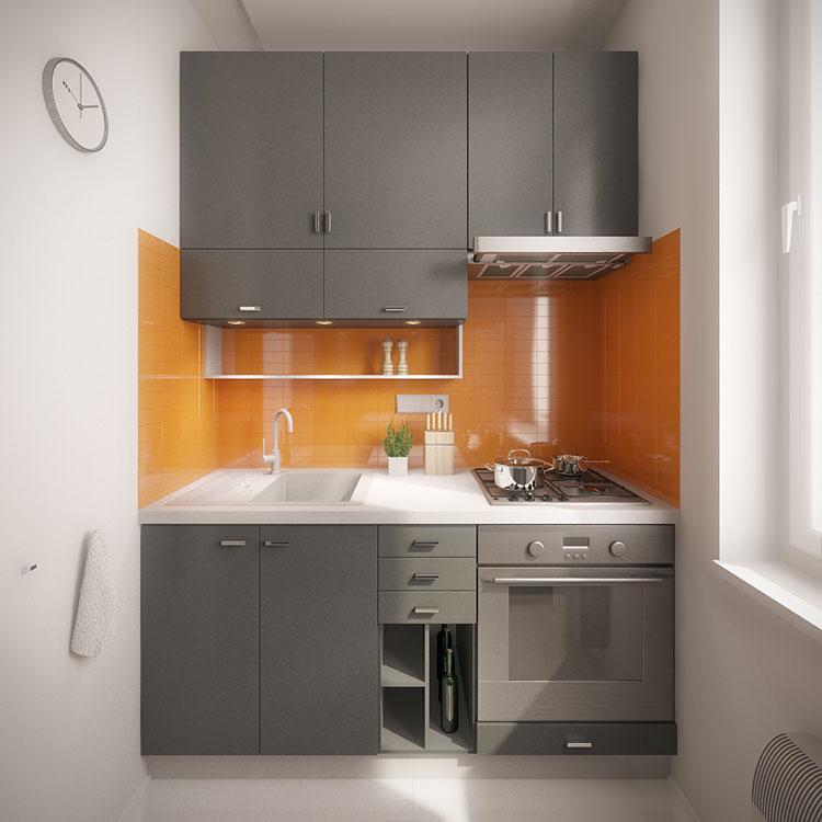Idee per arredare una cucina piccolissima n.10