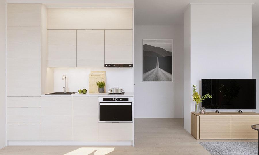 Idee per arredare una cucina piccolissima n.11