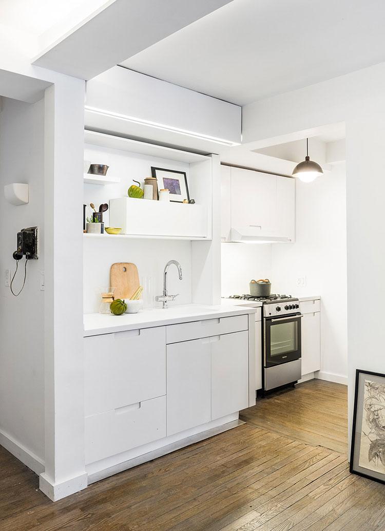 Idee per arredare una cucina piccolissima n.12