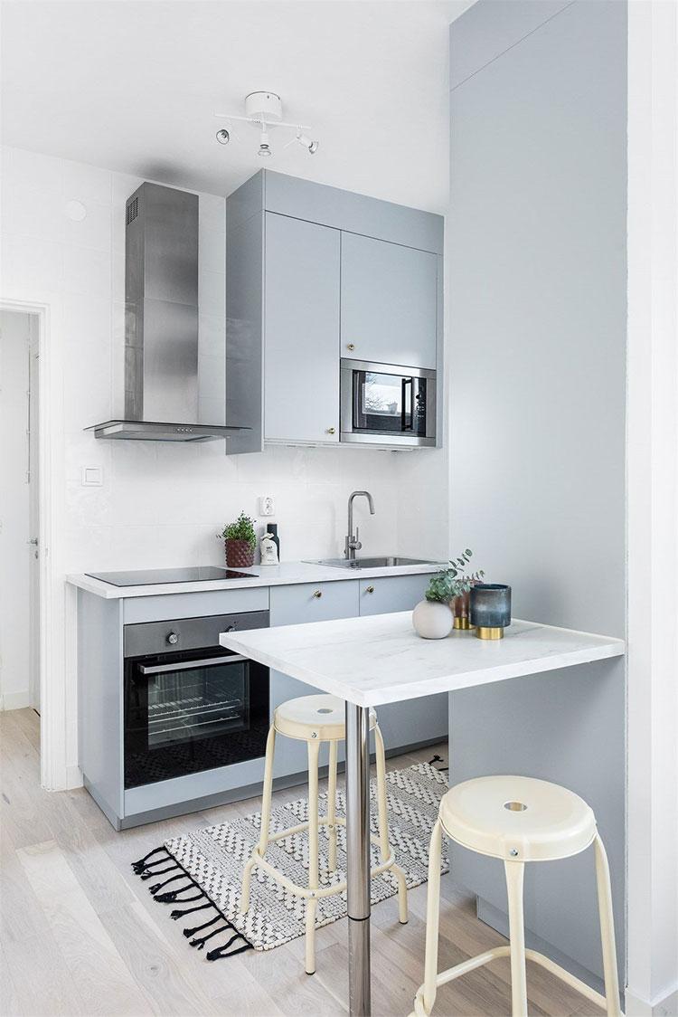 Idee per arredare una cucina piccolissima n.13