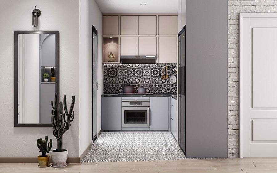 Idee per arredare una cucina piccolissima n.17