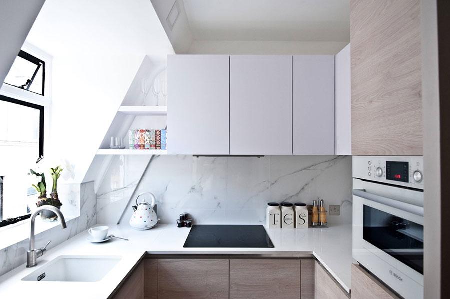 Idee per arredare una cucina piccolissima n.20