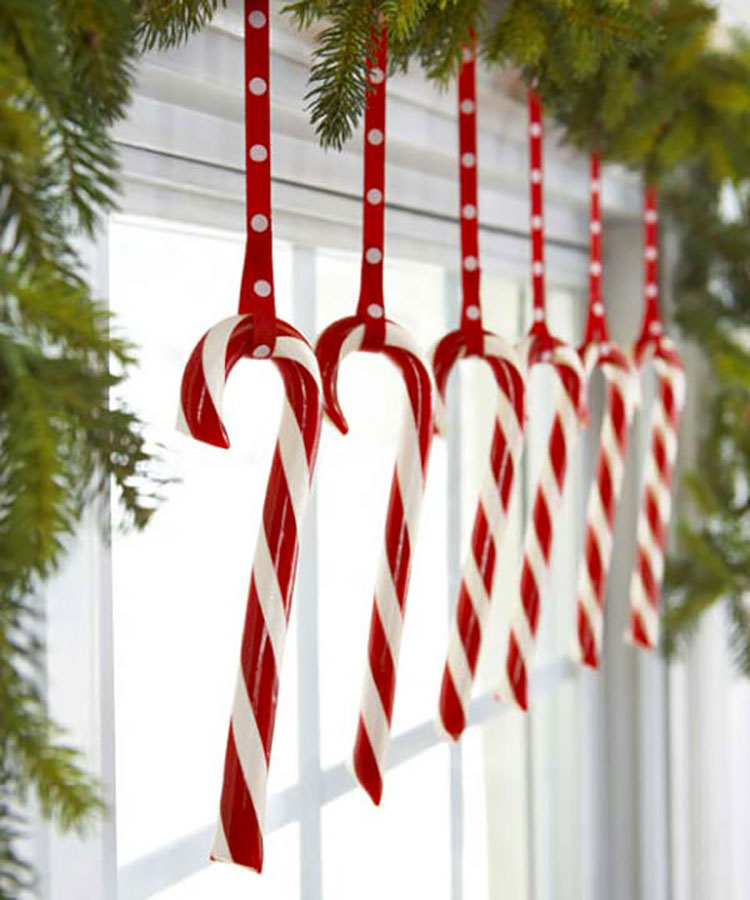 Idee per decorare le finestre per il Natale n.02