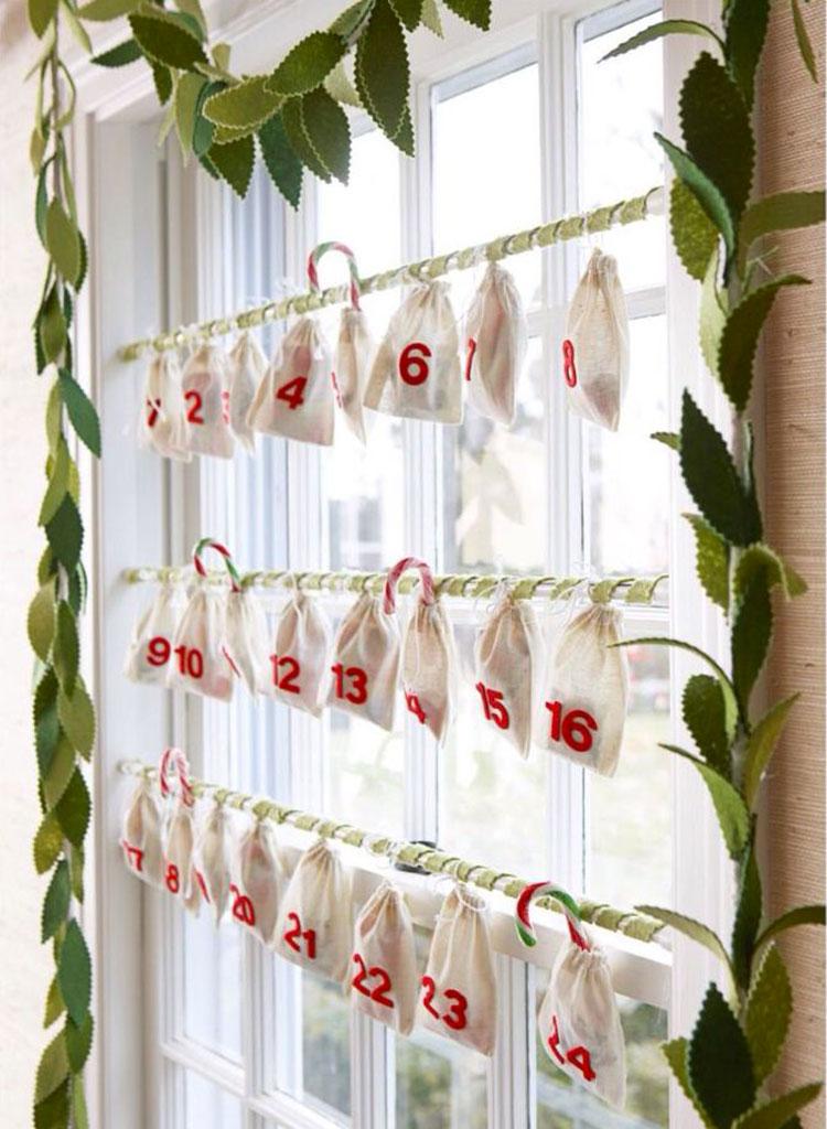 Idee per decorare le finestre per il Natale n.03