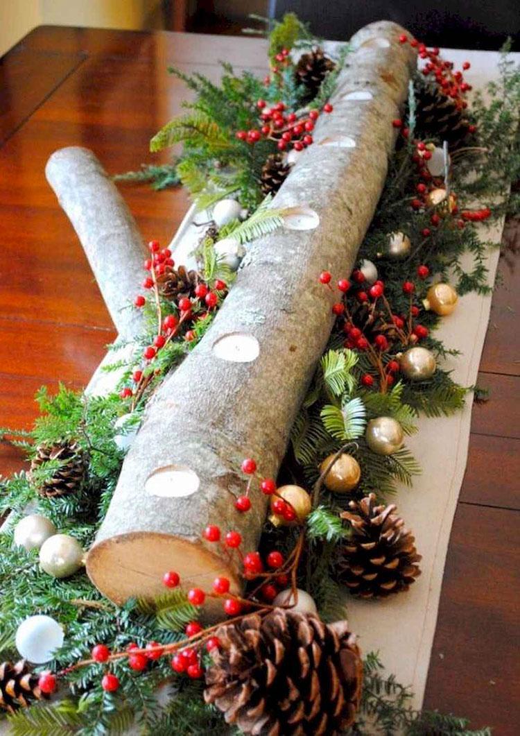 Idee per decorazioni natalizie in legno n.03