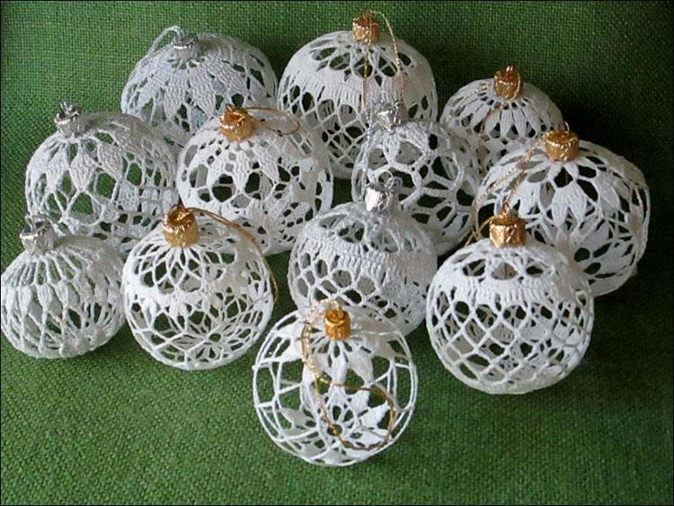 Idee per decorazioni natalizie con uncinetto n.01