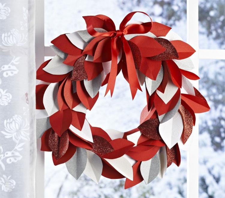 Idee per ghirlande natalizie fai da te n.01