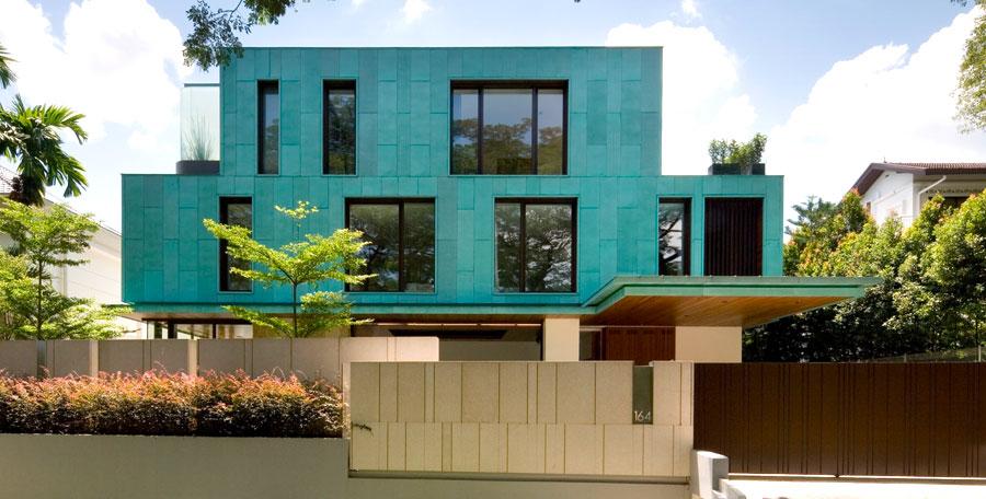 Idee colori facciata casa