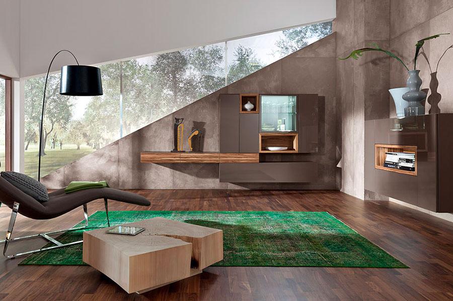 Idee per pareti del soggiorno colore tortora n.01