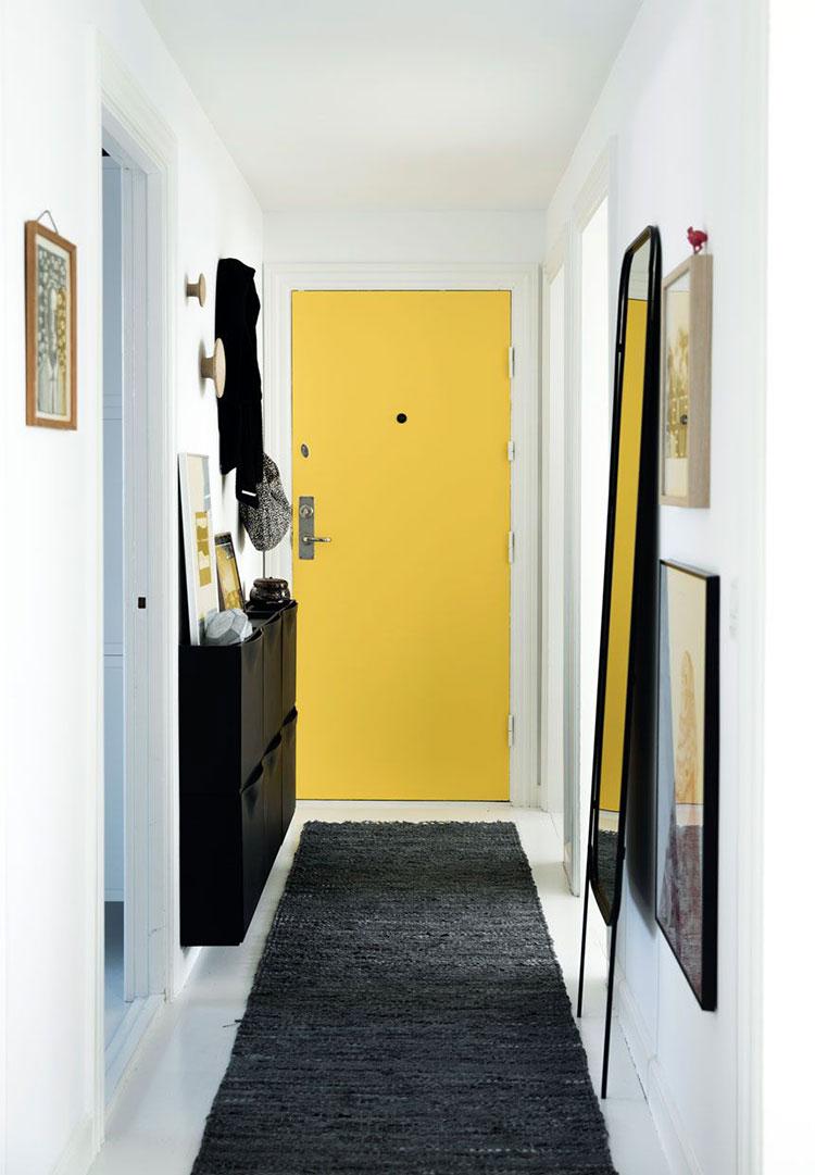 23 idee per arredare un corridoio stretto e corto