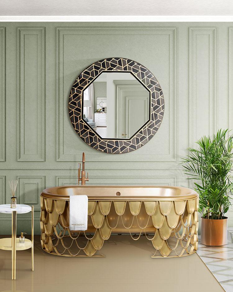 Idee bagno bronzo 2