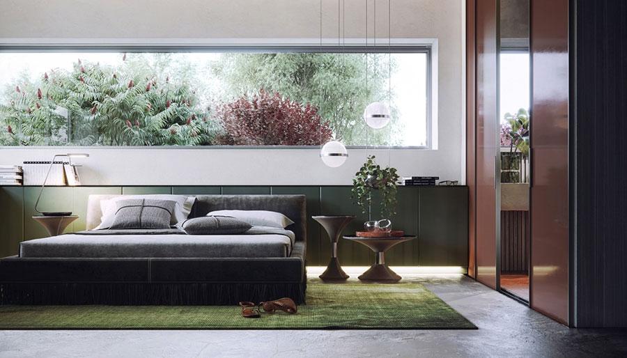 Idee per il lampadario in una camera da letto moderna n.01