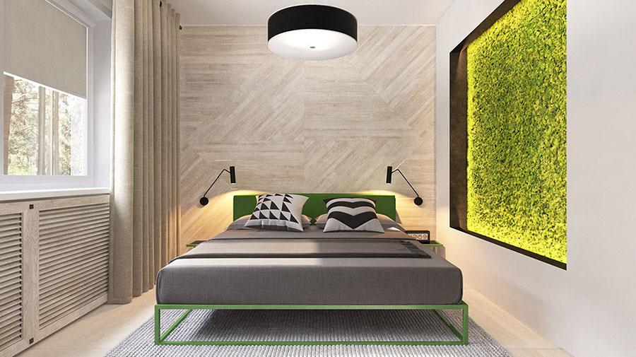 Idee per il lampadario in una camera da letto moderna n.03