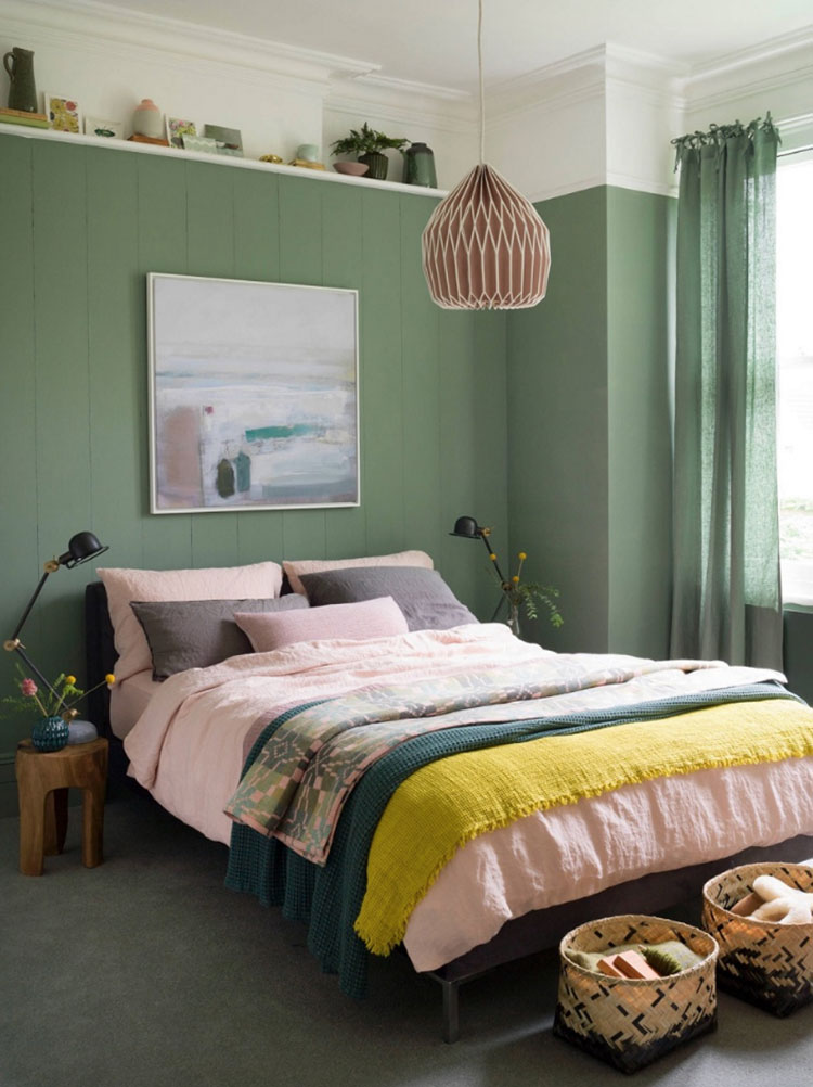 Idee per il lampadario in una camera da letto moderna n.08