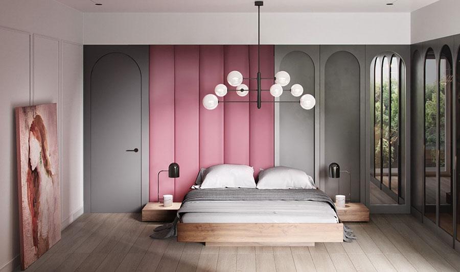 Idee per il lampadario in una camera da letto moderna n.12