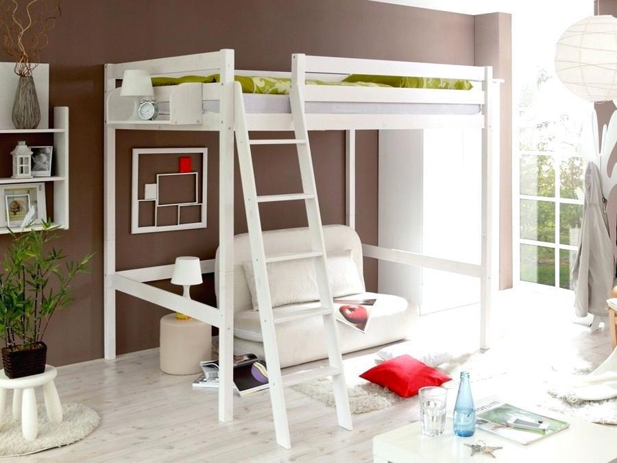 Modello di letto a soppalco matrimoniale Ikea n.02