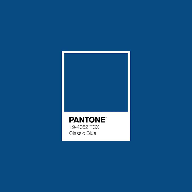 Colore Pantone Classic Blue