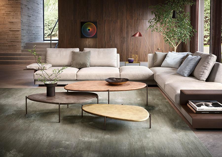 Idee soggiorno bronzo 1