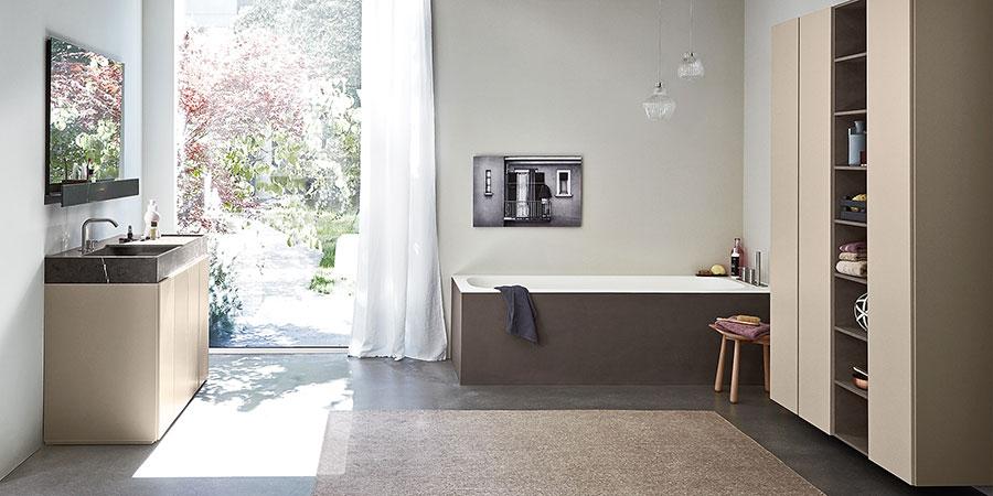 Idee per arredi e mobili bagno tortora n.04