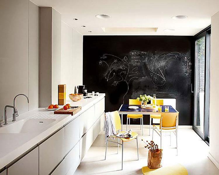 Idee per pittura lavagna in cucina n.02