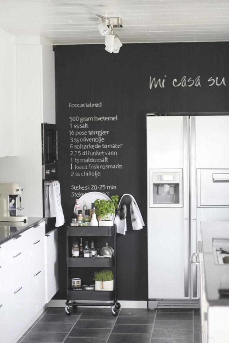 Idee per pittura lavagna in cucina n.04